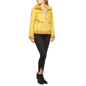 SAM EDELMAN Fitted Short Coat  w/Patch Pockets